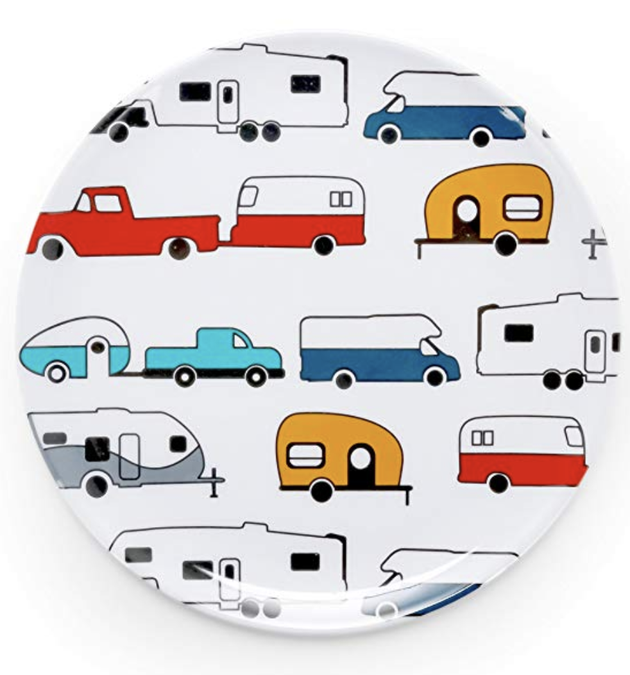 camper travel trailer plate