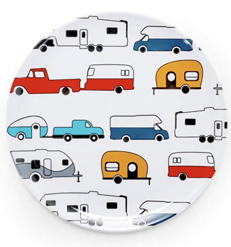 camper travel trailer plate