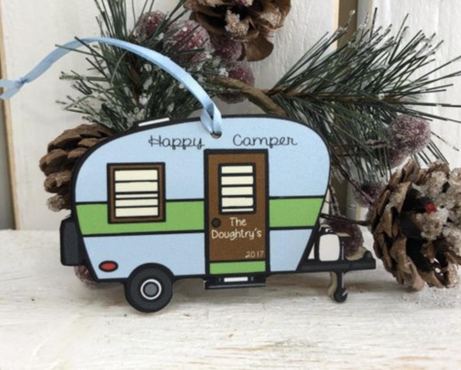 Camper Ornament
