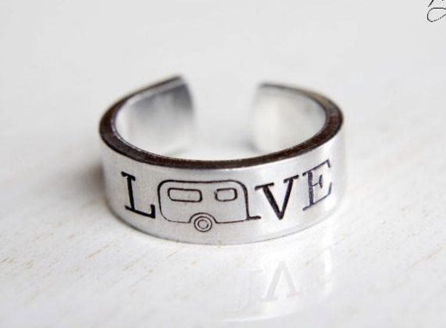 Camper LOVE Ring Jewelry