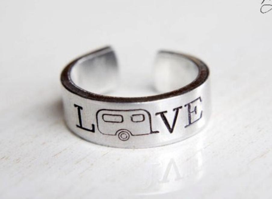 Camper LOVE Ring Jewelry