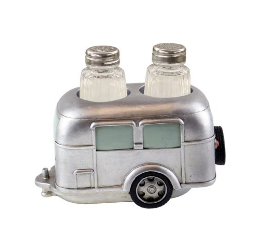 Camper Salt and Pepper Shaker