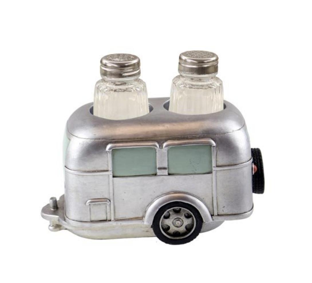 Camper Salt and Pepper Shaker