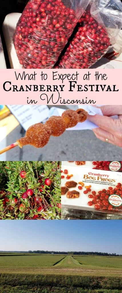 Cranberry Festival and Food in Wisconsin