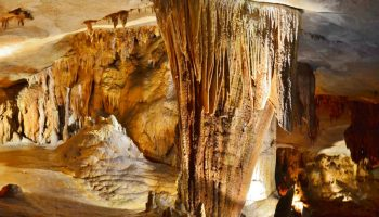 Caves in Missouri: Riding through Fantastic Caverns in Springfield
