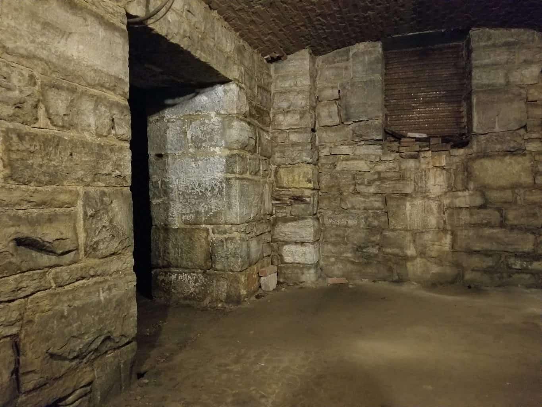 brick Catacombs Below City Market Indianapolis, Indiana