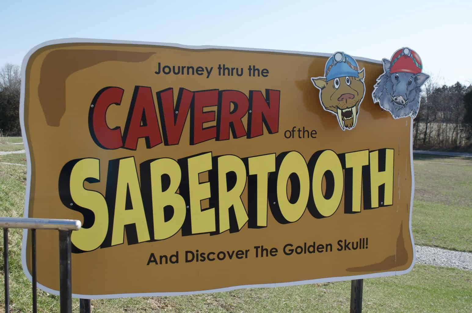 Caverns of the Sabertooth kid's cave tunnel