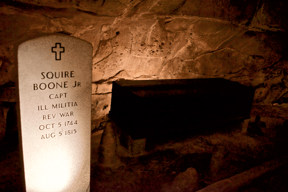 Squire Boone's Grave in Indiana
