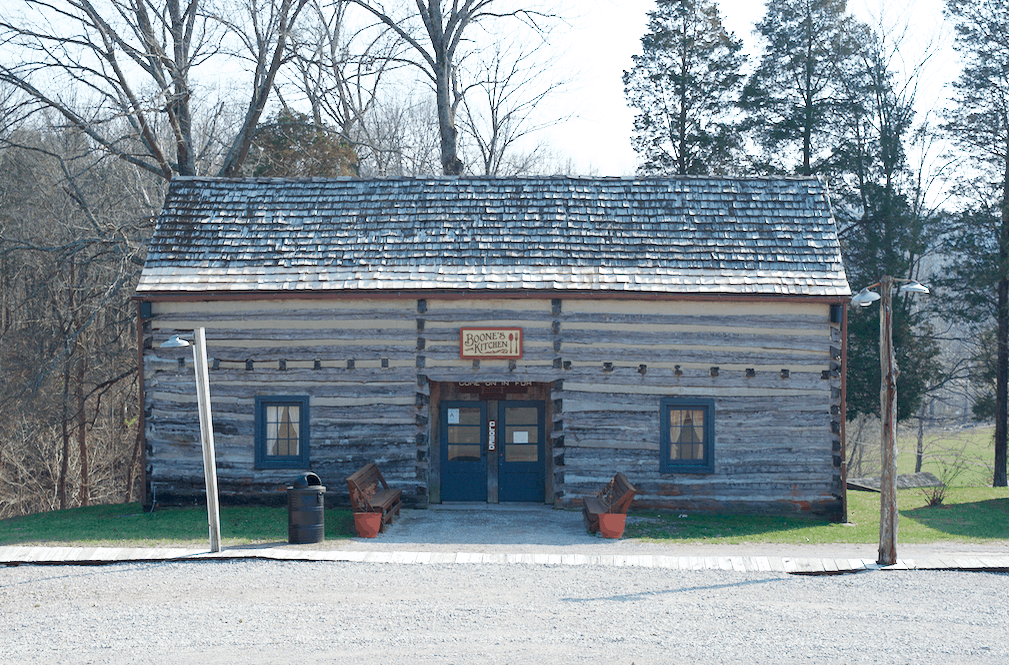 historic Squire Boone village