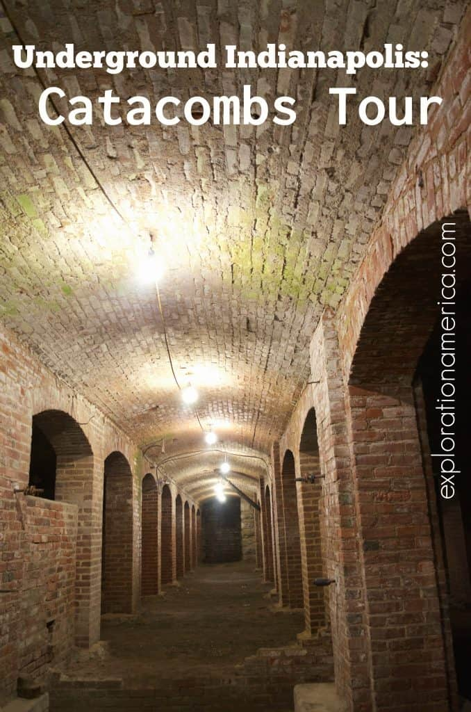 red brick tunnels in Indiana