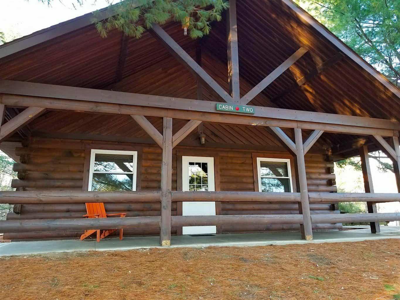 Buffalo Trace Park cabins camping