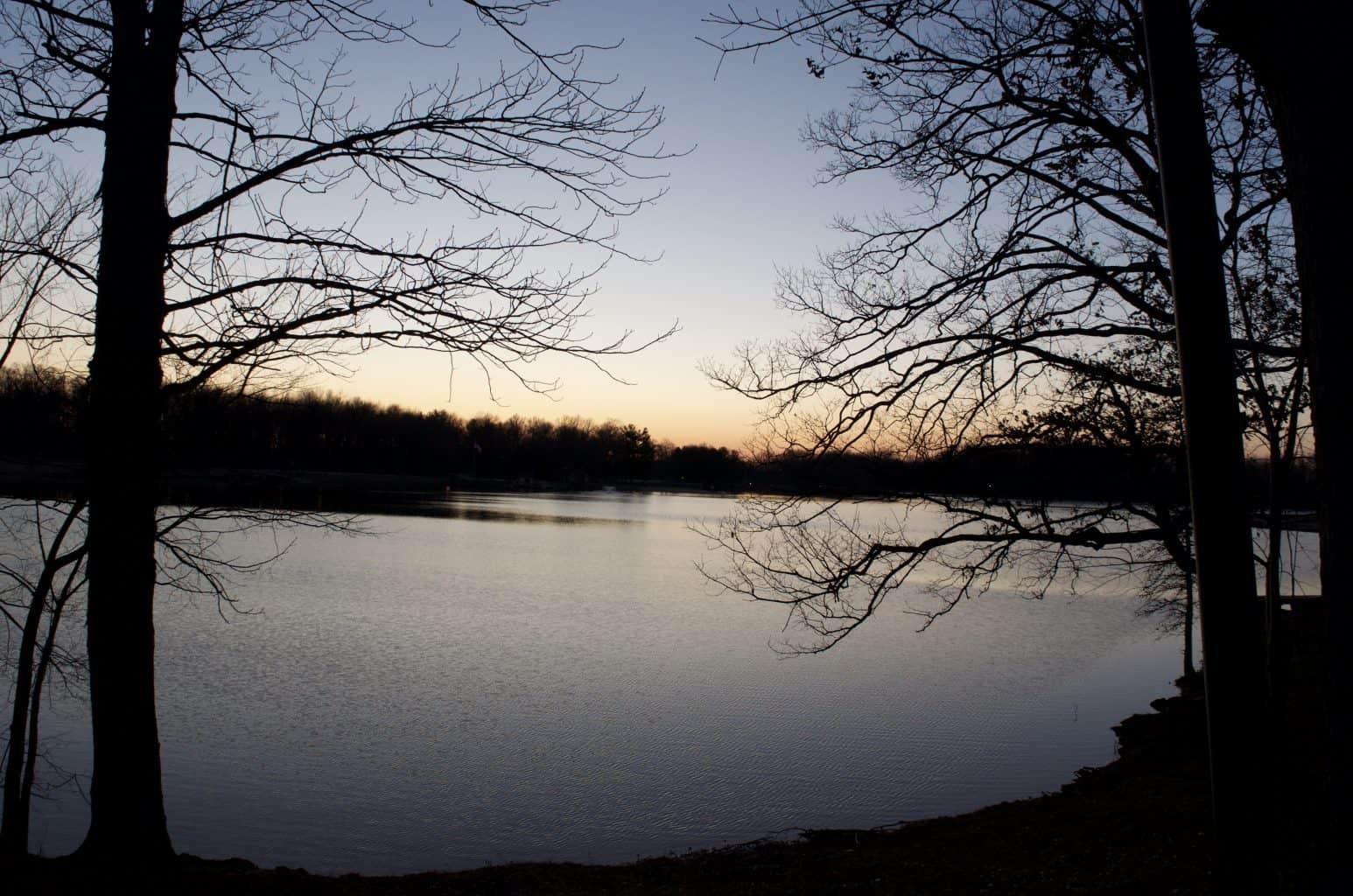 lake at Buffalo Trace Park
