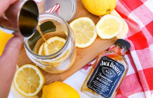 Camping Cocktails Recipe: Cold Whiskey Spiked Tea Recipe