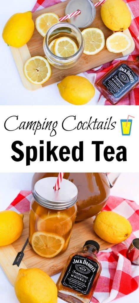 lemon and Jack Daniels Spiked Tea recipe