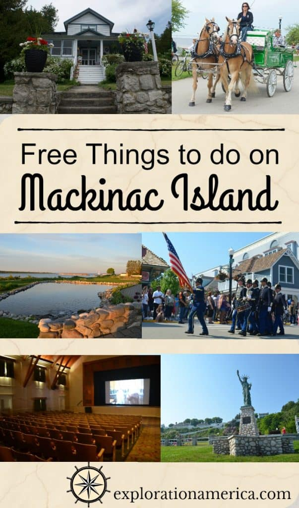 things to do on Mackinac Island for free