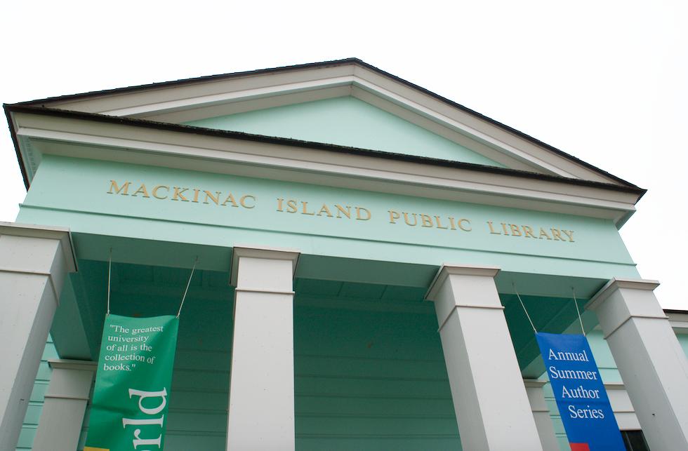 Mackinac Island Public Library in Michigan