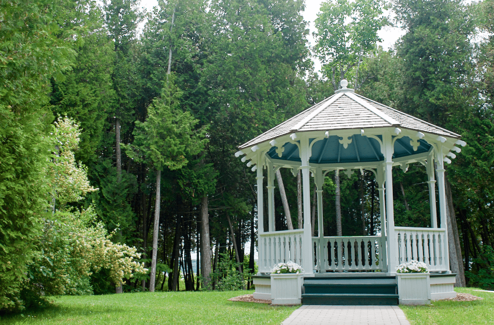 Somewhere in Time Gazebo Mackinac Island