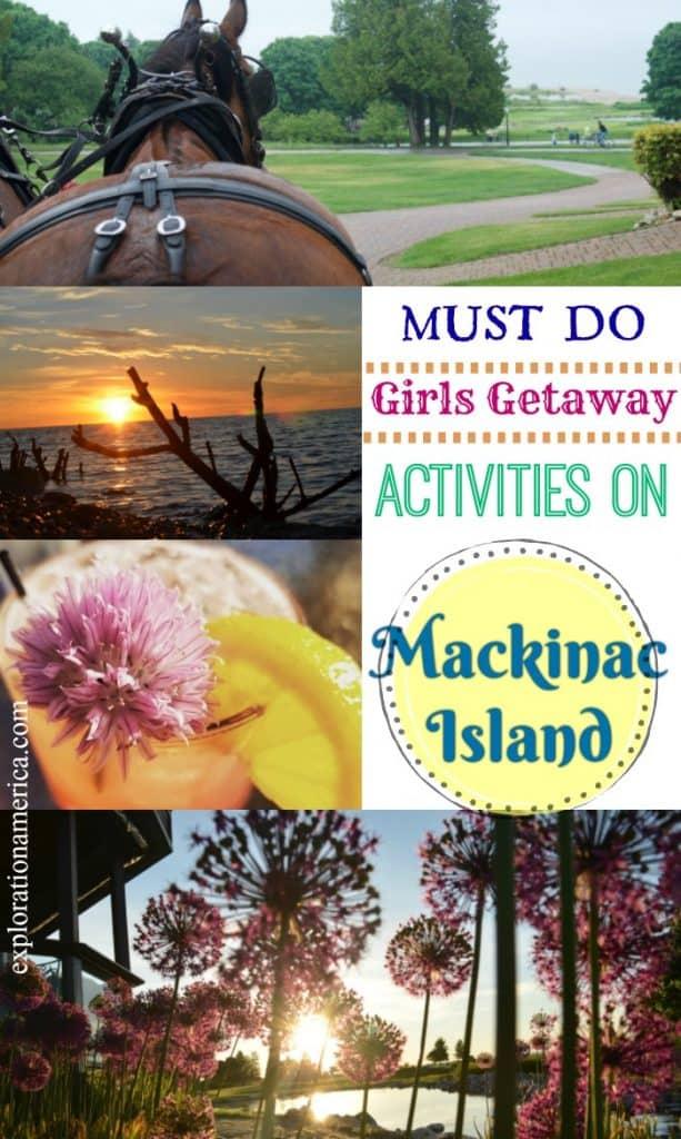 beautiful scenes of Mackinac Island