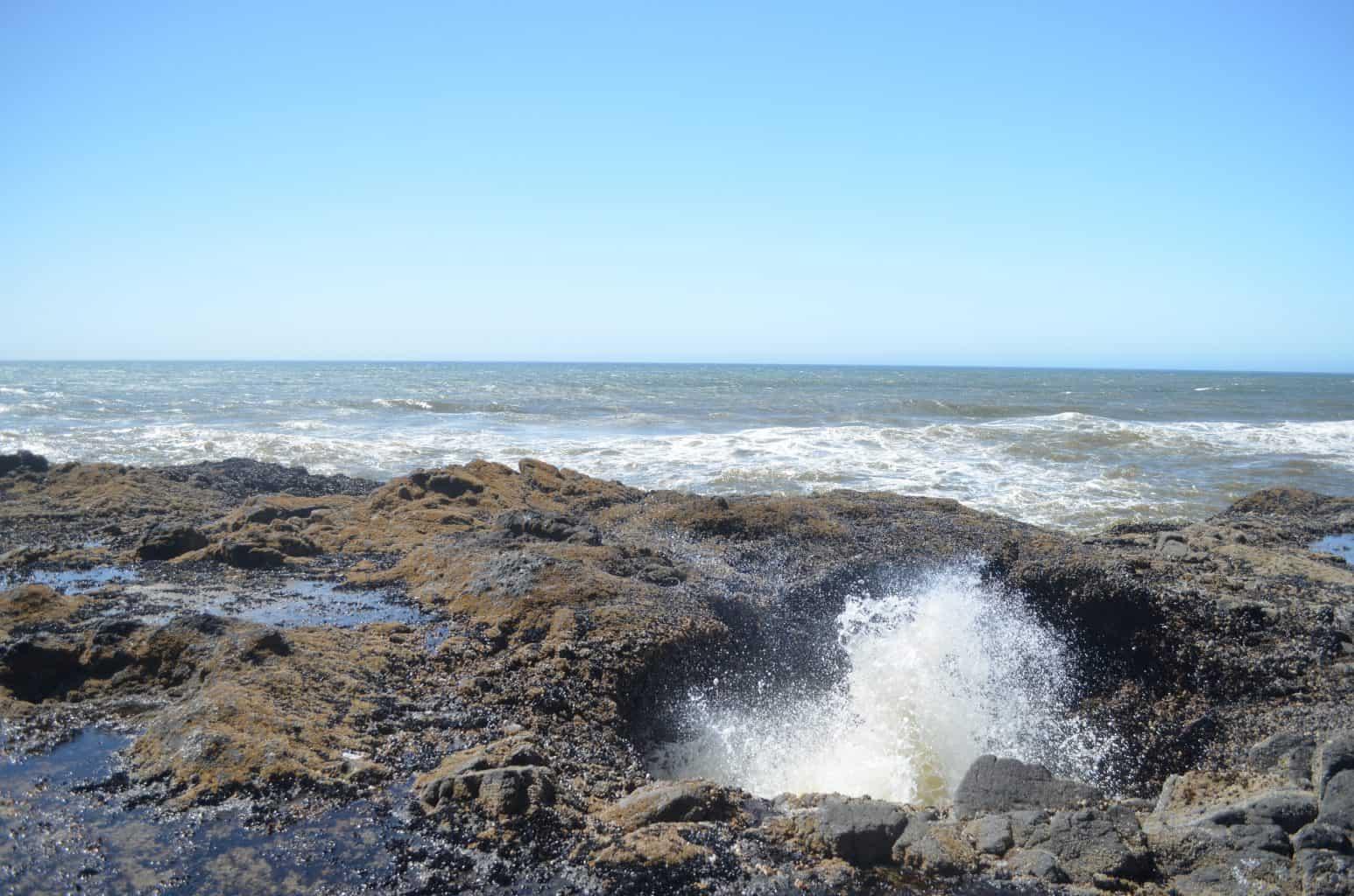 Thor's Well Oregon Coast