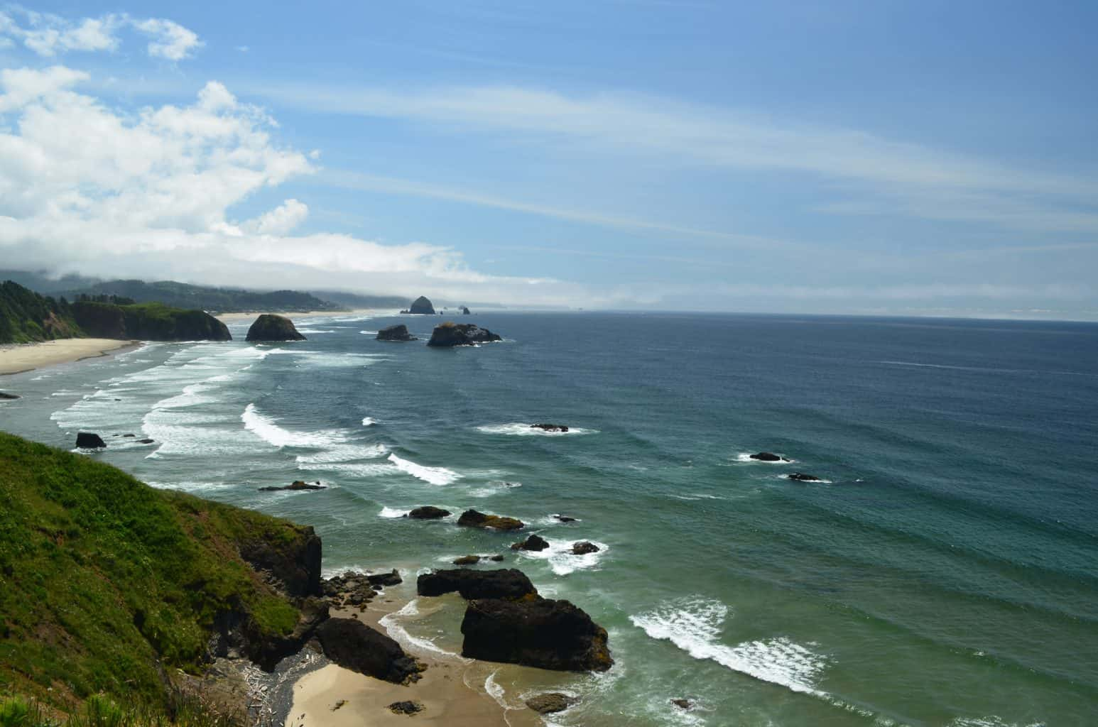 Ecola State Park scenic ocean view