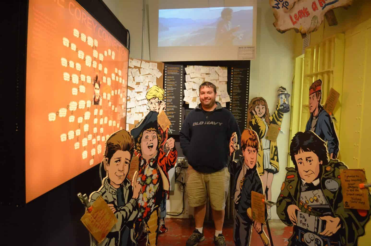 Goonies film museum Astoria Oregon