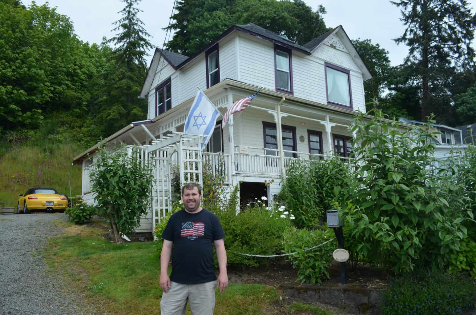Goonies house in Astoria Oregon