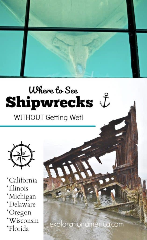 shipwrecks above water