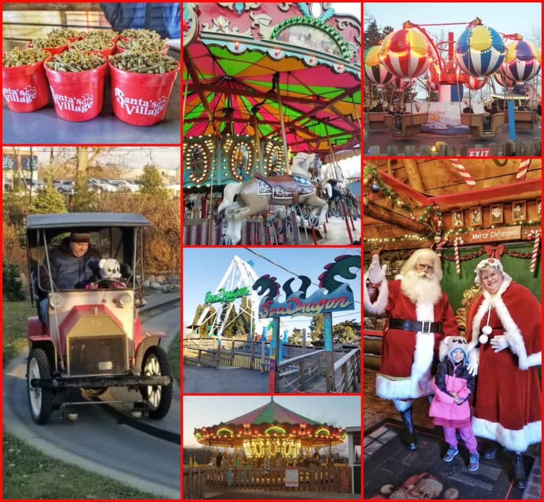 Santa's Village Collage