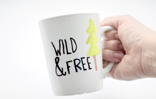 How to Make Your Own DIY Travel Mug: Wild & Free Tutorial