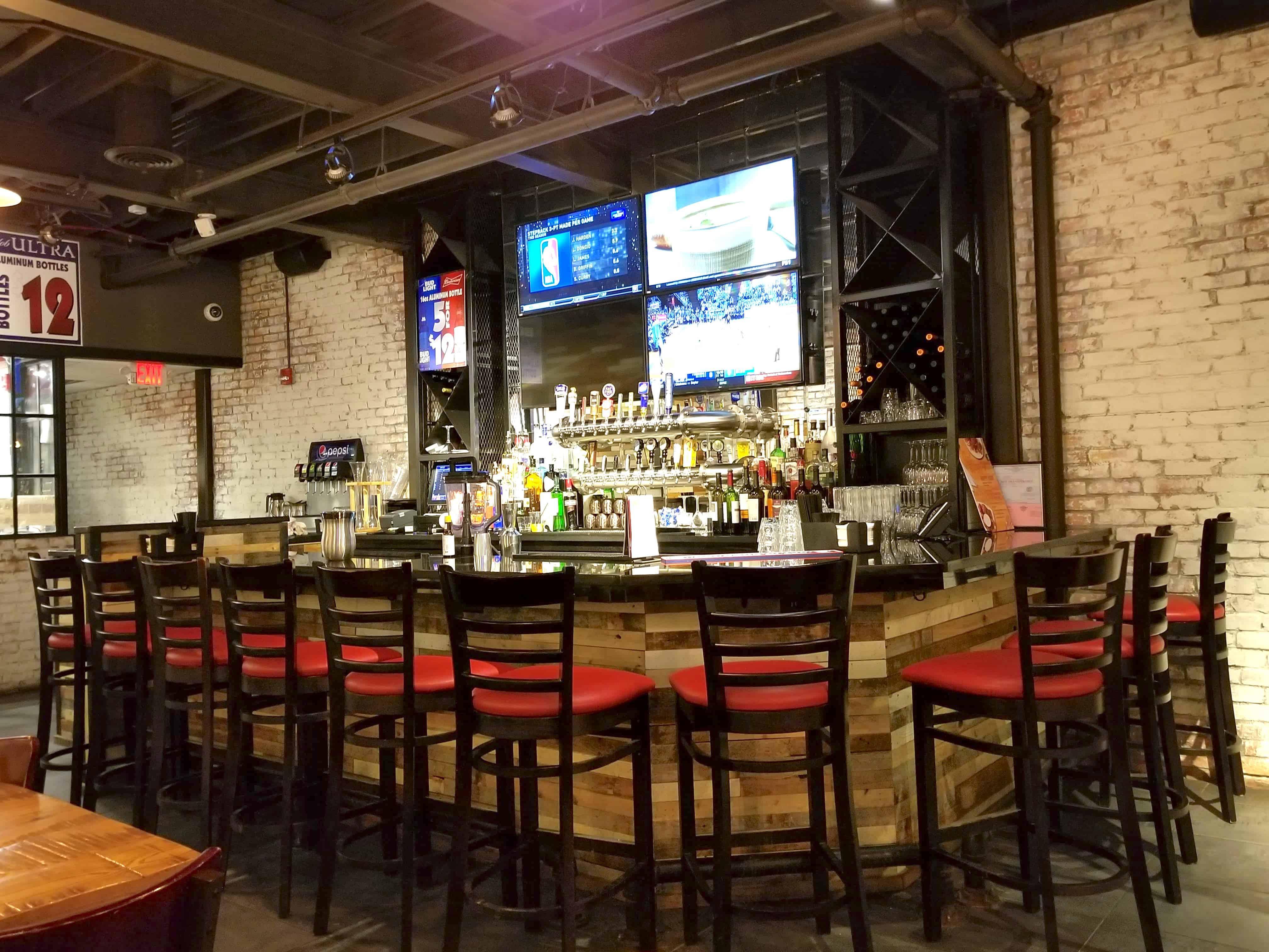 bar at Giordano's Detroit