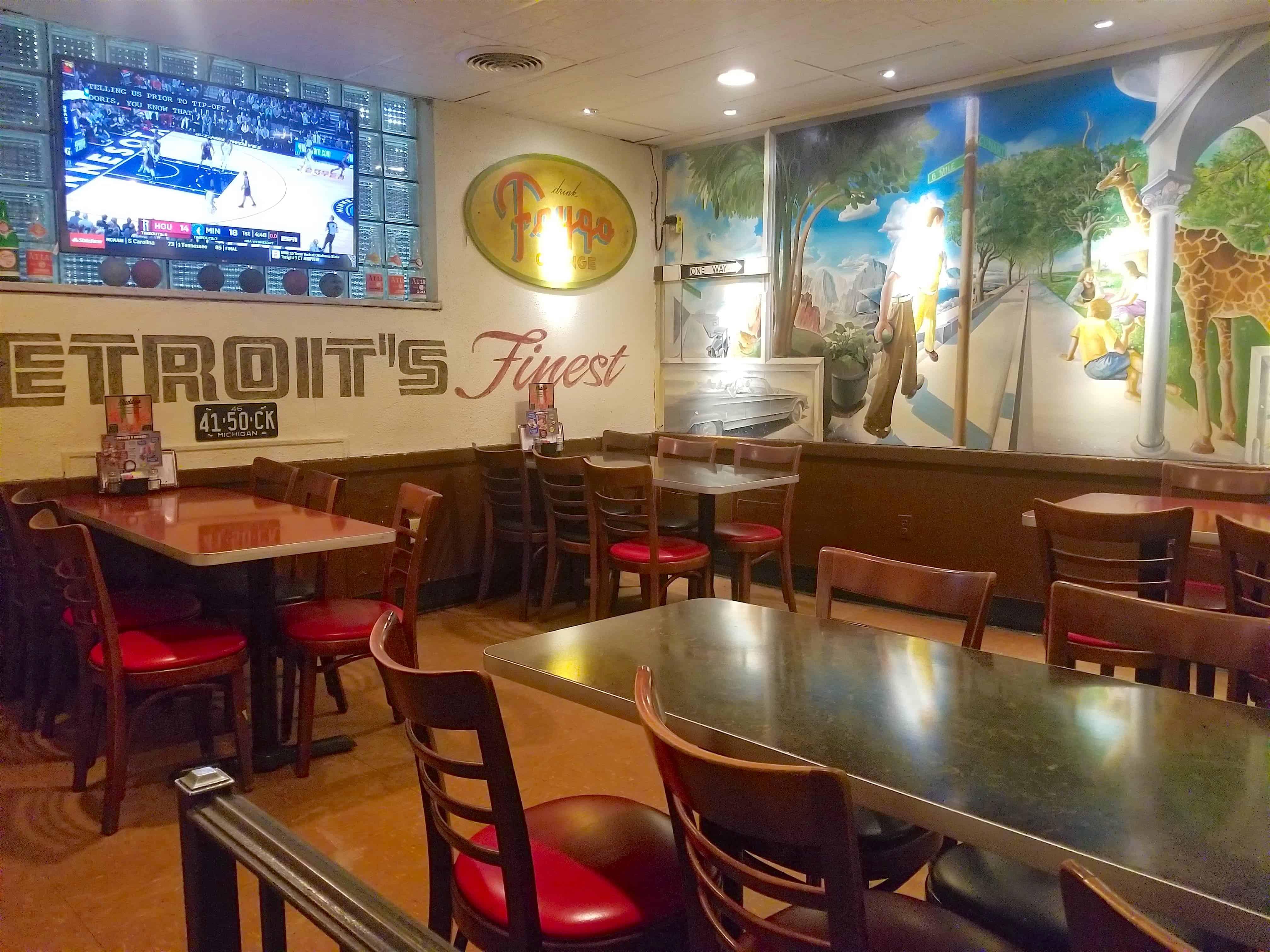 Buddy's Diner restaurant Detroit