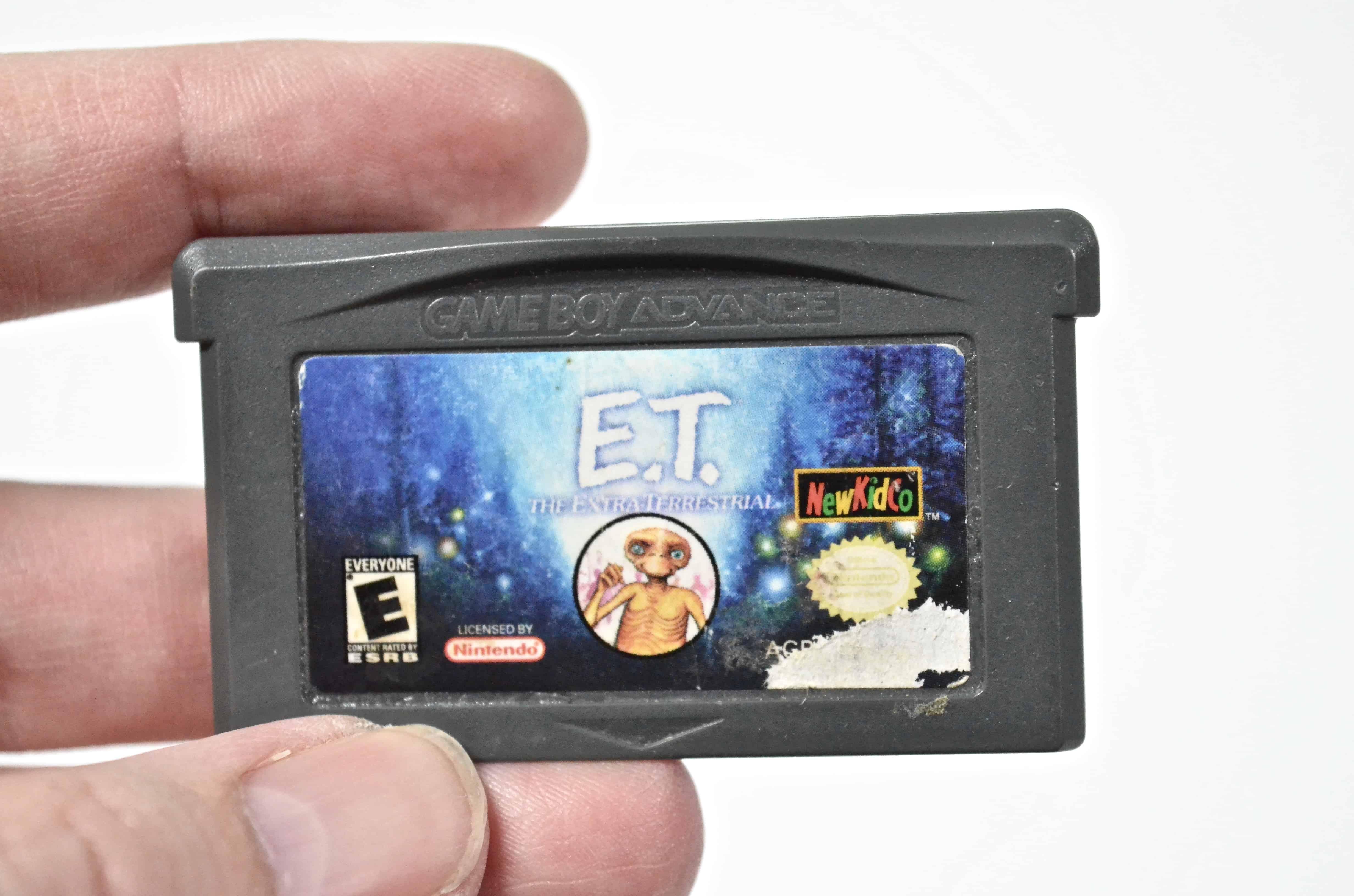 ET Gameboy Advance Game