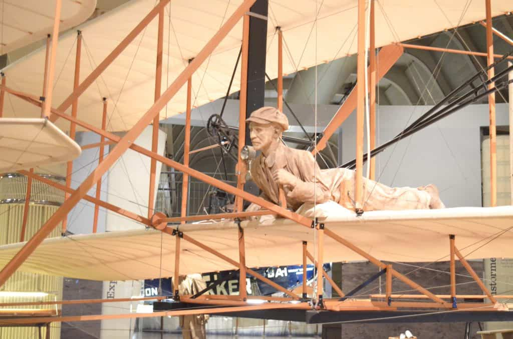 Wright brothers plane replica Henry Ford