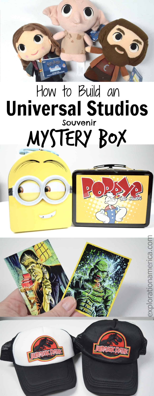 Universal Studios souvenir mystery box