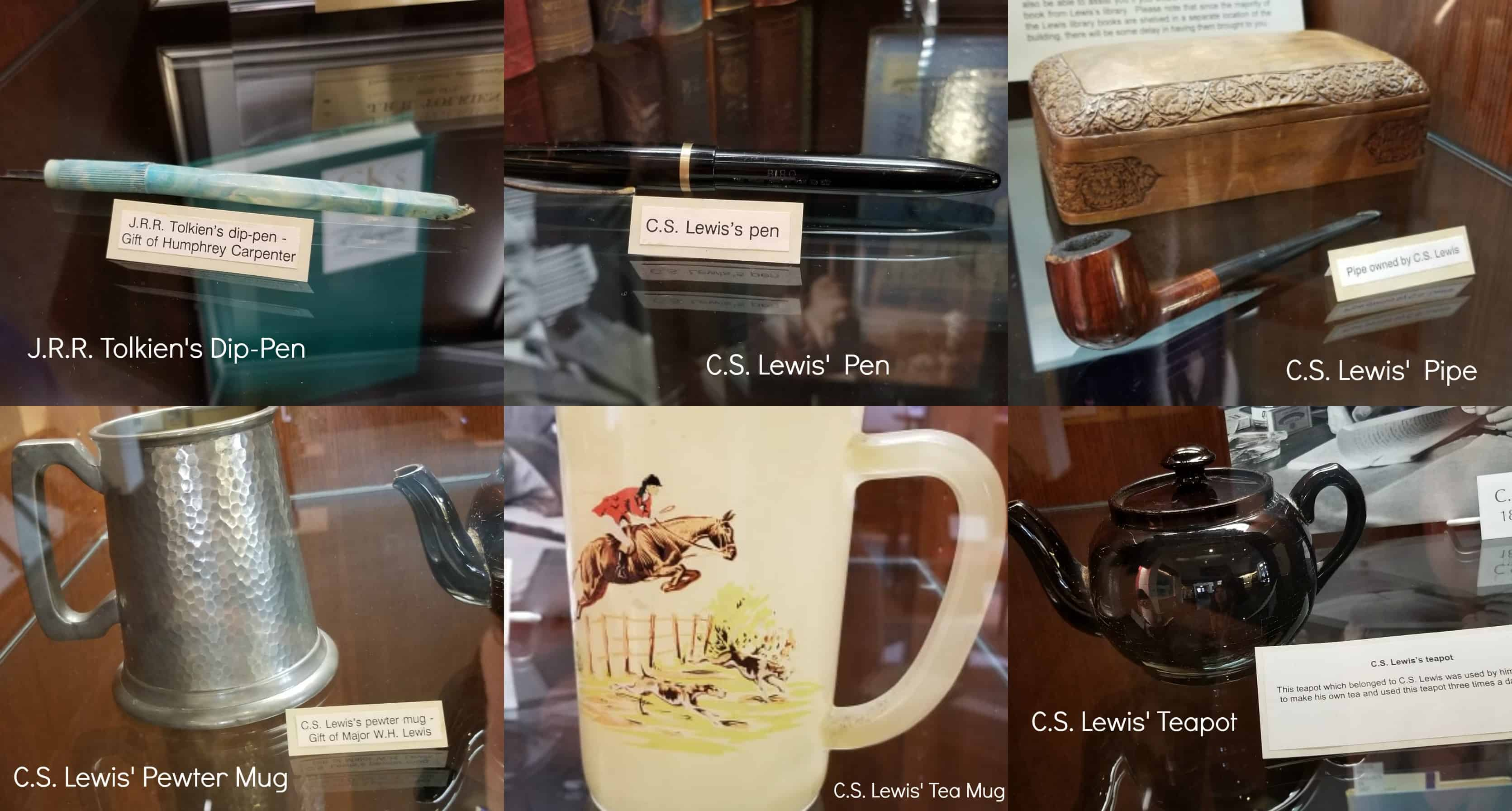CS Lewis History Personal Items