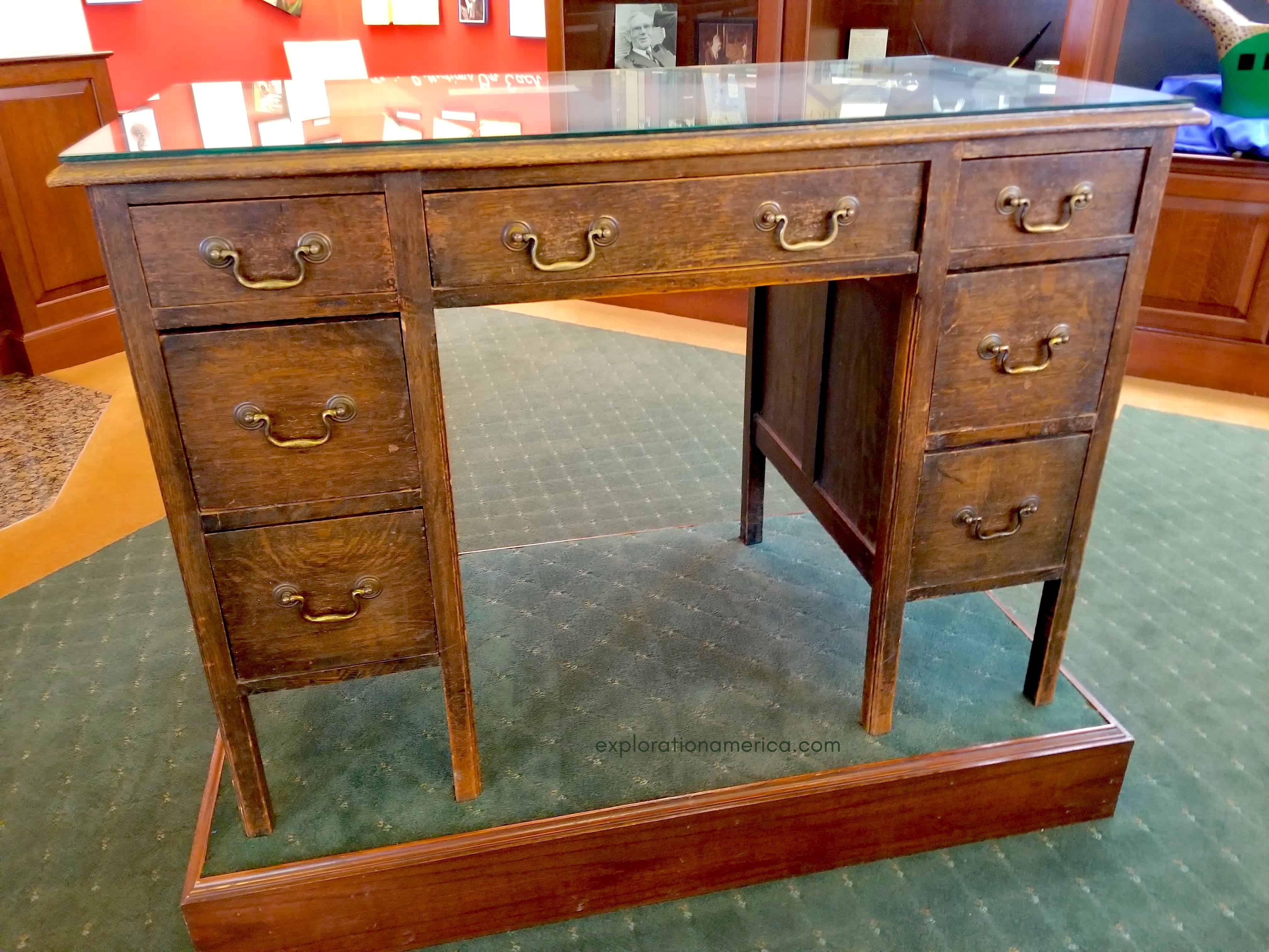 JRR Tolkien desk