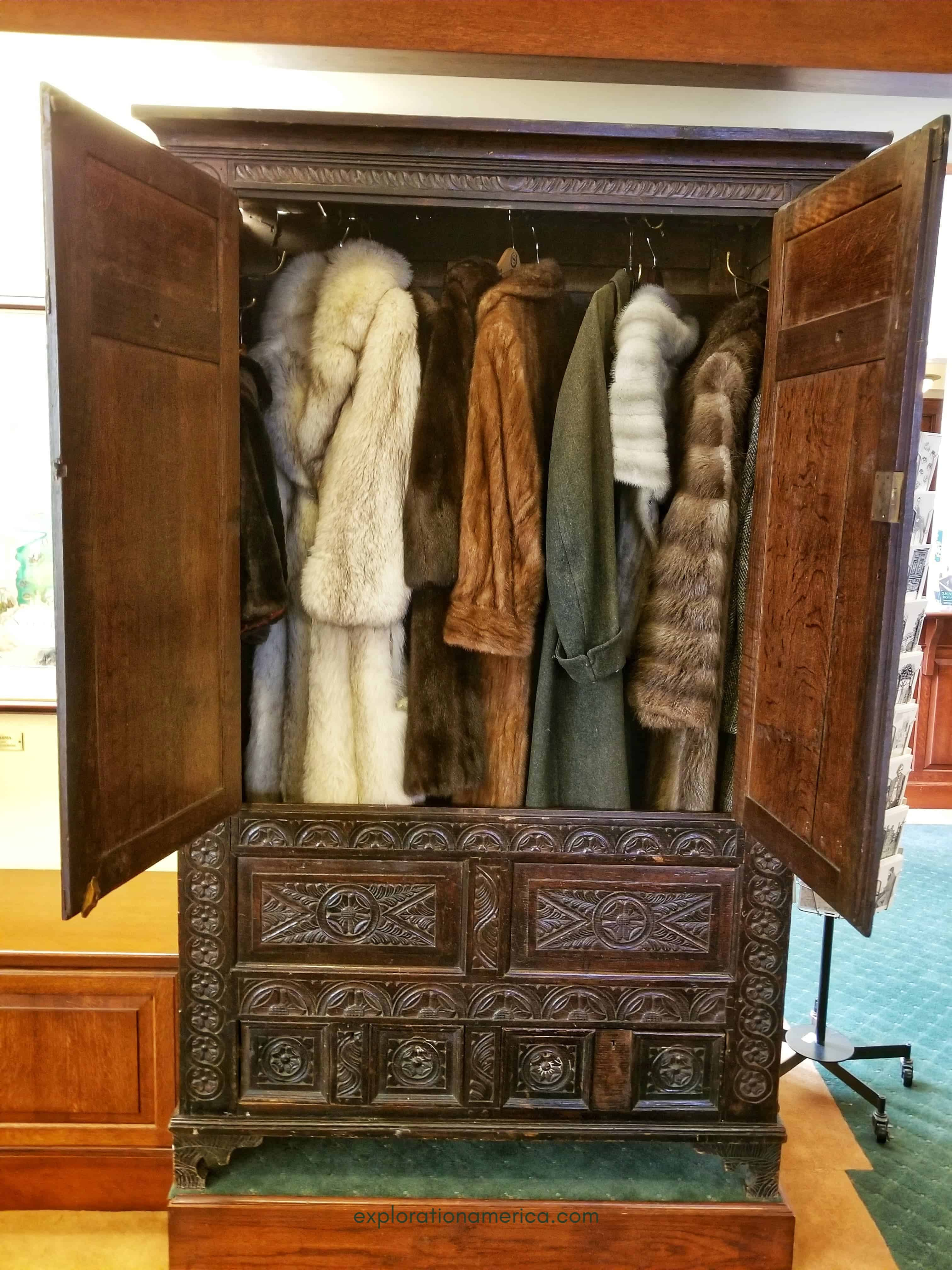 original CS Lewis Wardrobe Narnia