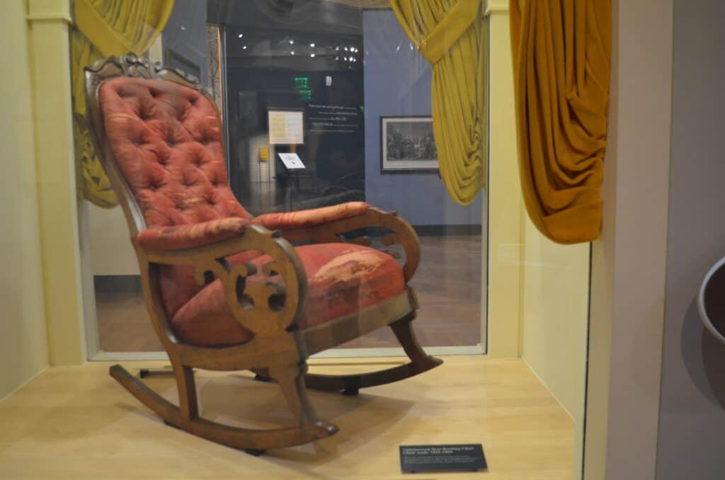 Lincoln's Death Chair