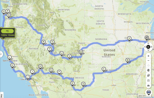 How to Plan a Cross-Country Road Trip for Families on a Budget- 9000+ Miles