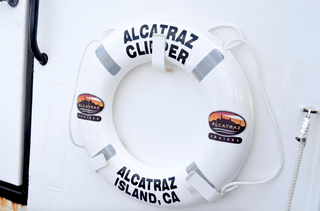 Alcatraz Cruises ferry boat