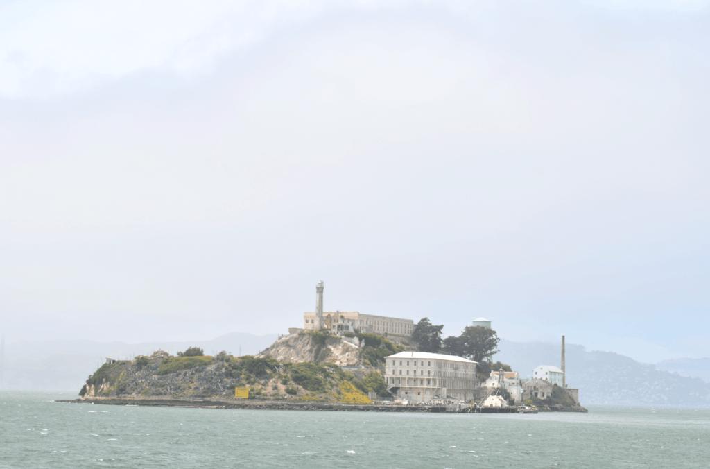 Alcatraz Island in San Francisco Bay