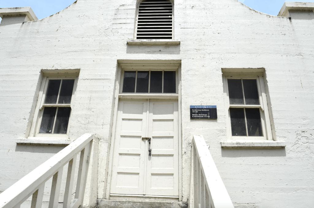 military baracks Alcatraz
