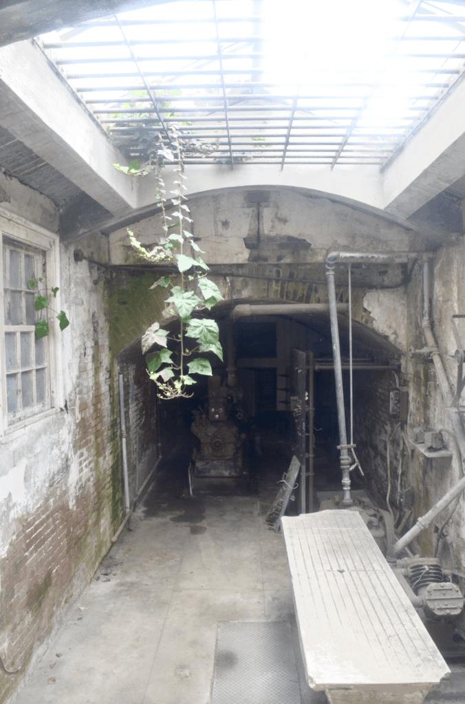 morgue on Alcatraz Island