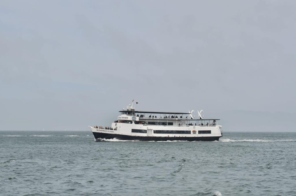 Alcatraz Cruise ferry boat