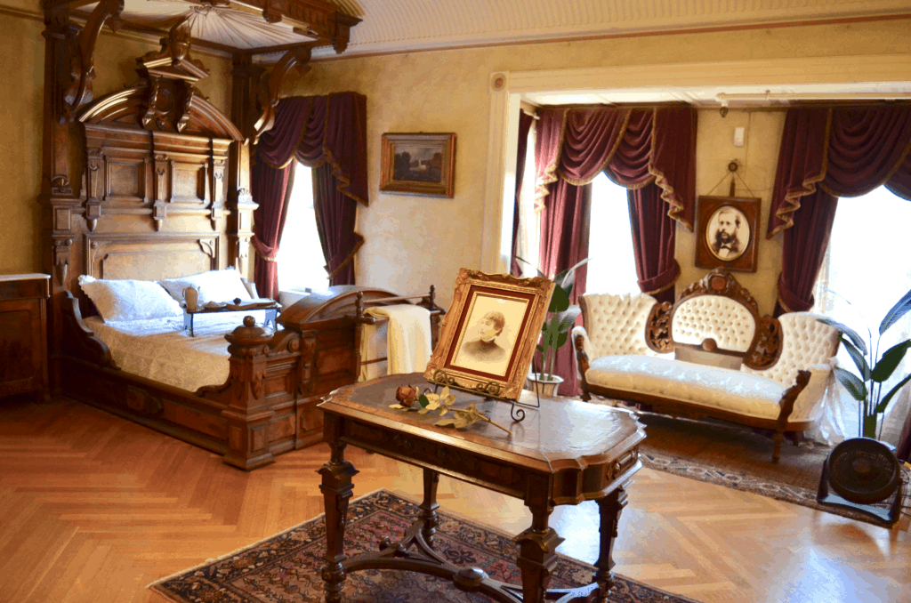 Sarah Winchester's Bedroom in the Winchester Mystery House