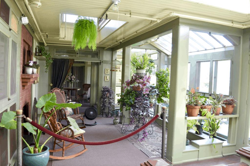 garden room Winchester Mystery House