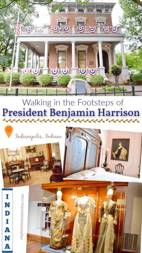 photo tour inside Benjamin Harrison home