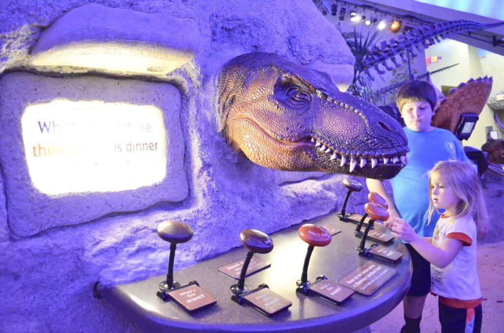 dinosaur technology with kids