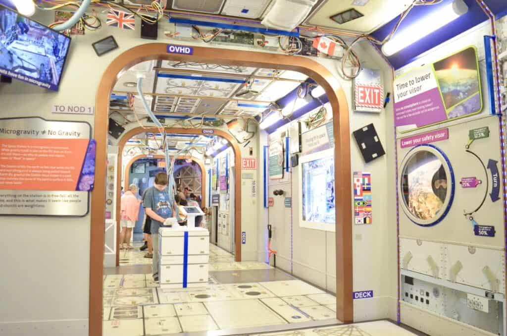 space module children's museum