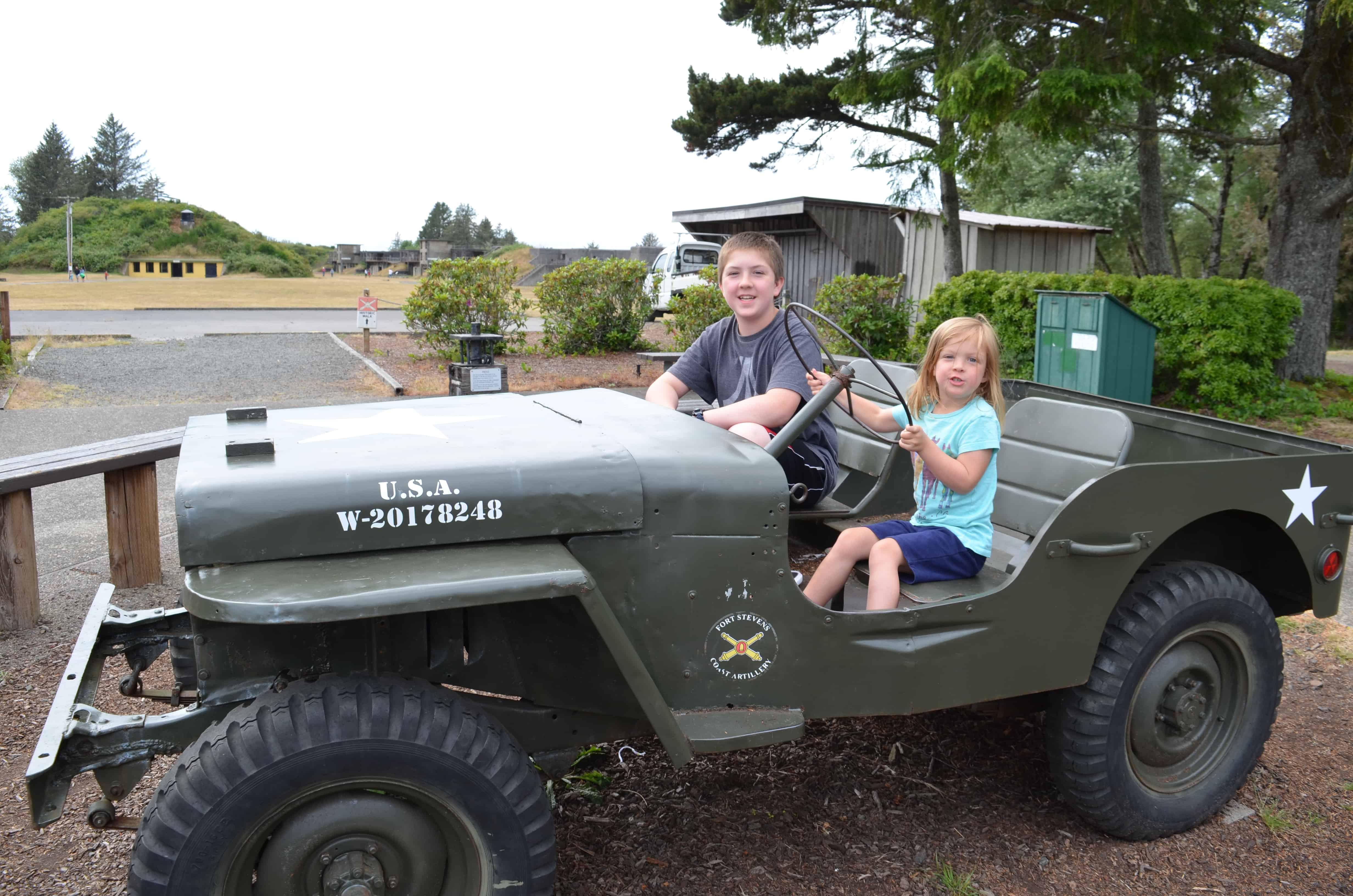 Fort Stevens State Park Hammond Oregon